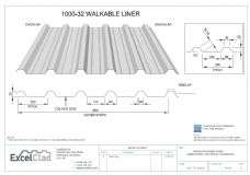 ExcelClad 1000-32 Walkable Liner